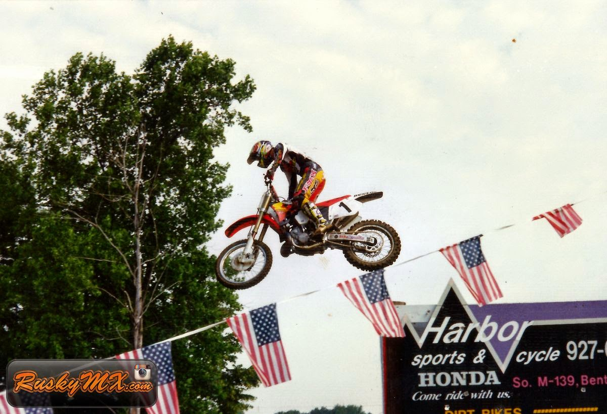 Jeremy McGrath - Red Bud 1996