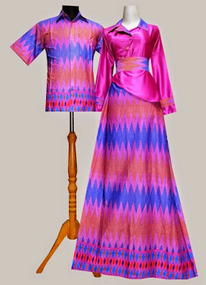 Baju Couple Rangrang Sarimbit Warna Pink