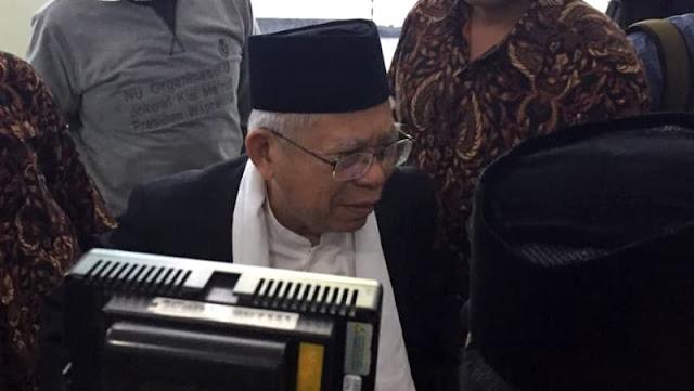 Ma'ruf Amin Hadiri Rapat Pimpinan MUI, Klaim Masih Ketum Aktif
