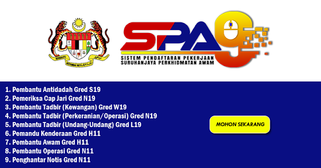jawatan spa9