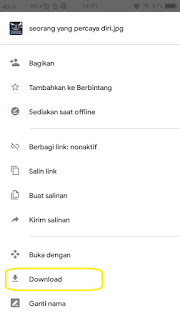 how to download file from google drive