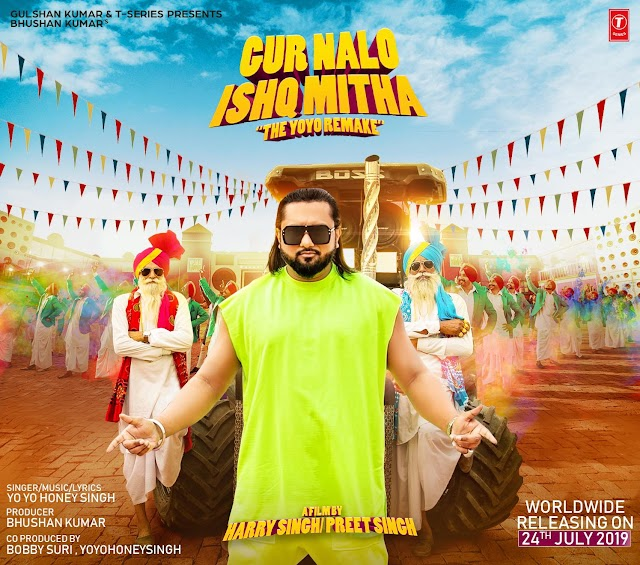 Gur Nalo Ishq Mitha Lyrics- Honey Singh, Malkit Singh- 2019 Punjabi Song
