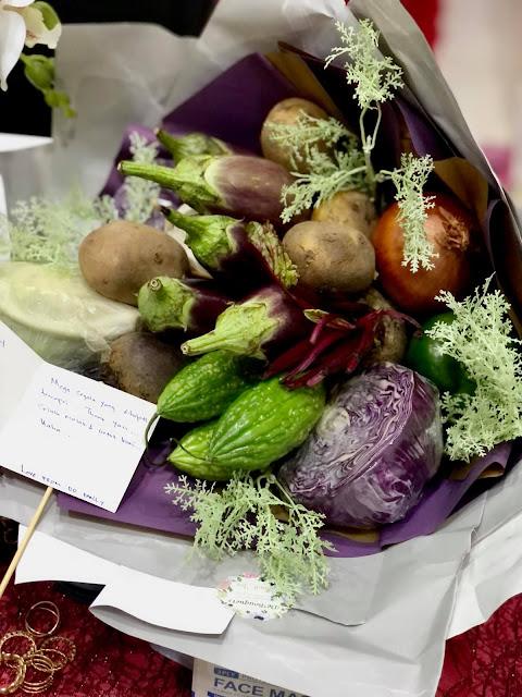Ingatkan Dapat Jambangan Bunga, Sekali Pusing, Sayur!