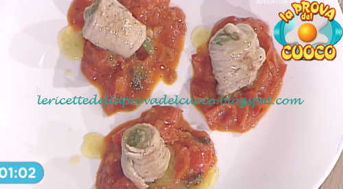 Prova del cuoco - Ingredienti e procedimento della ricetta Involtini di prosciutto con fagiolini e provola di Renato Salvatori