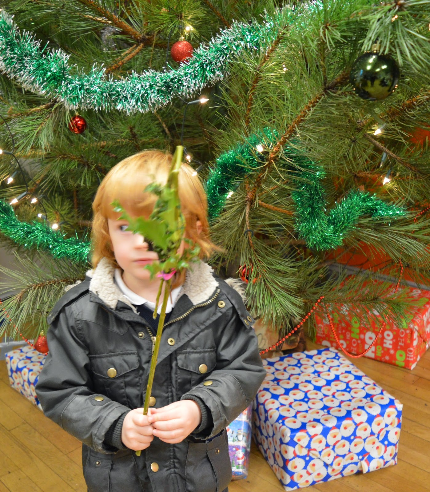 Santa's Grotto at Rising Sun Countryside Centre, North Tyneside - A review - woodland crafts