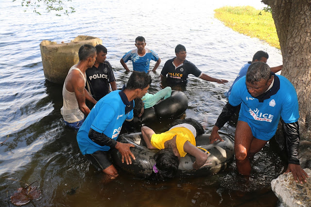 Young couple drown after boat overturns in Anuradhapura river
