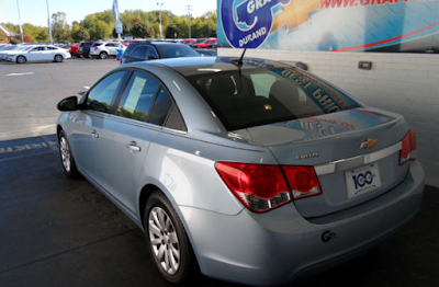 Pick of the Week - 2011 Chevrolet Cruze LS