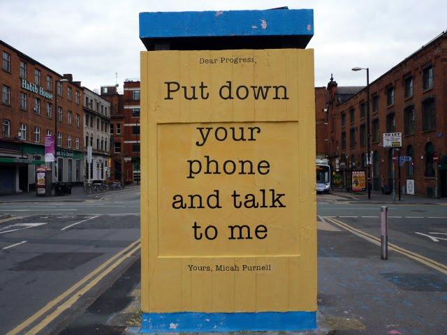 mensajes escritos en Manchester