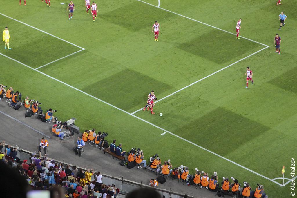 Суперкубок Испании 2013: Барселона - Атлетико Мадрид 0-0