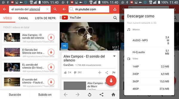 SnapTube – نزِّل مقاطع الفيديو من YouTube وFacebook مجانًا