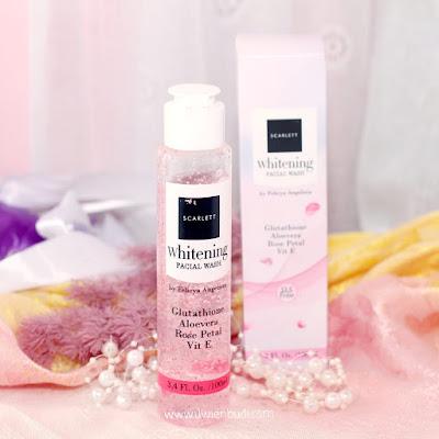 review scarlett facial wash