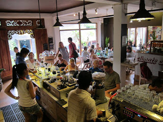 All About Bali SENIMAN Coffee Studio in ubud