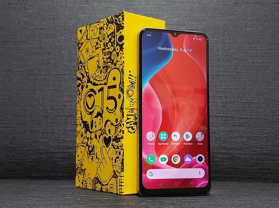 Realme C15 MediaTek Edition with Doodle Box