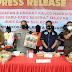 Polresta Banjarmasin Sita Setengah Kilogram Ganja dari Warga Kabupaten Banjar
