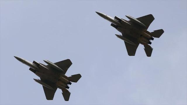 EEUU despliega cazas F-15 en Israel para ejercicios aéreos