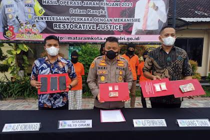 Kurangnya Penghasilan Jual Buah, JN Jadi Pengedar Narkotika Jenis Sabu
