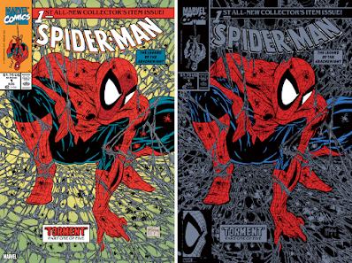 Spider-Man #1 Cover Art Marvel Comics Screen Print by Todd McFarlane x Bottleneck Gallery