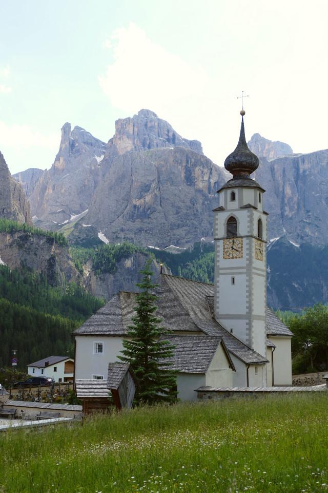 colfosco chiesa