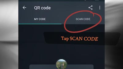 New Feature: Whatsapp QR Code for sharing and adding contacts