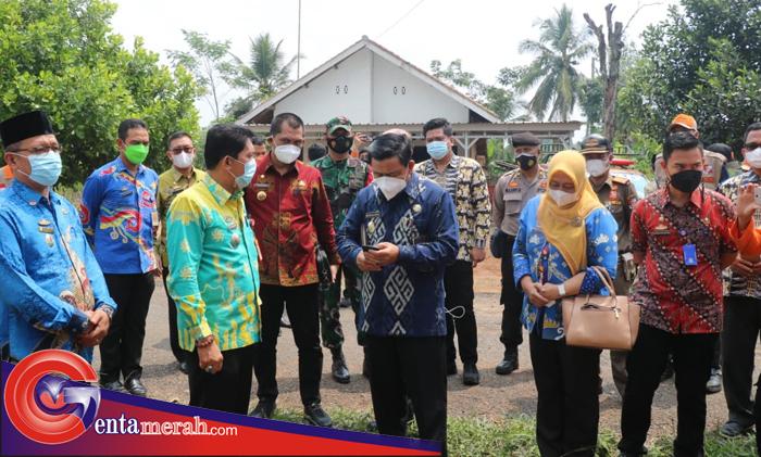 Pastikan Kesiapan Gugus Tugas Hingga Tingkat Desa, Gugus Tugas Prov Lampung Kunjungi Mulang Maya