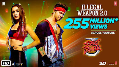 Illegal Weapon 2.0 song lyrics in hindi | Street Dancer 3D