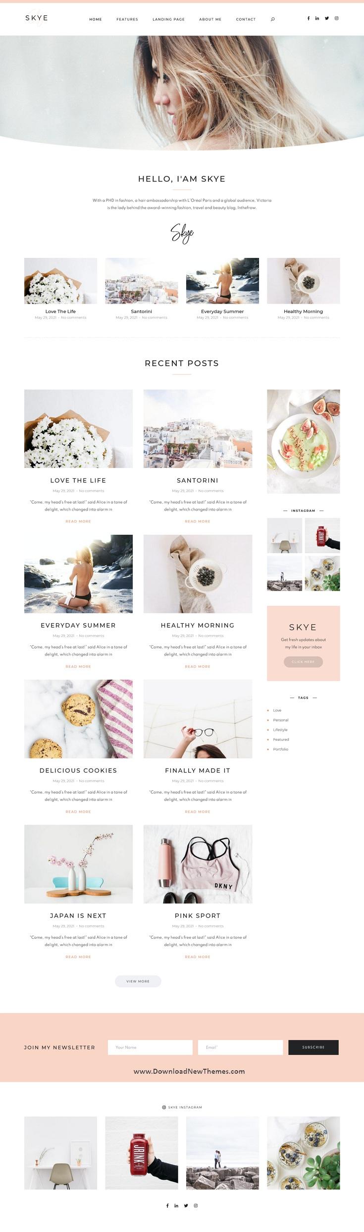 Modern Blog HubSpot CMS Theme