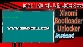 OMH Xiaomi Bootloader Unlock Tool v1.0 Tested