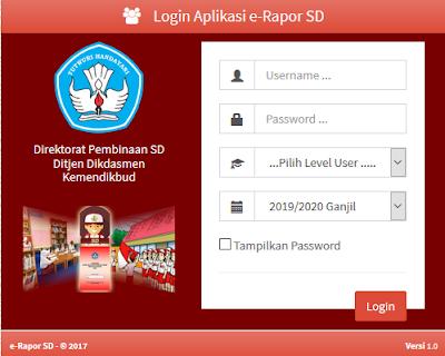 Download Aplikasi E-Raport SD Versi 2.0 Terbaru _ Galeri Guru