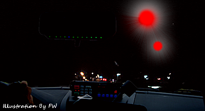 Police Officer Reports Sphere UFOs Over Niles, Illinois 7-3-14