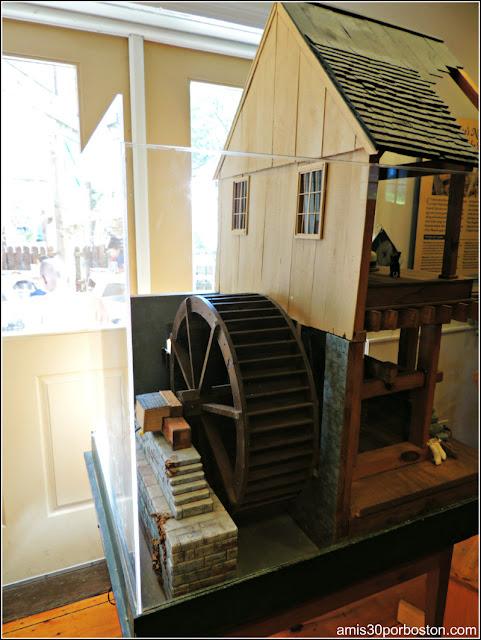Jenney Grist Mill en Plymouth
