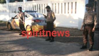 Wujudkan Kamtibmas Yang Kondusif, Patroli Polsek Marbo Saat Menyisir Kawasan Tanggul Desa Topejawa