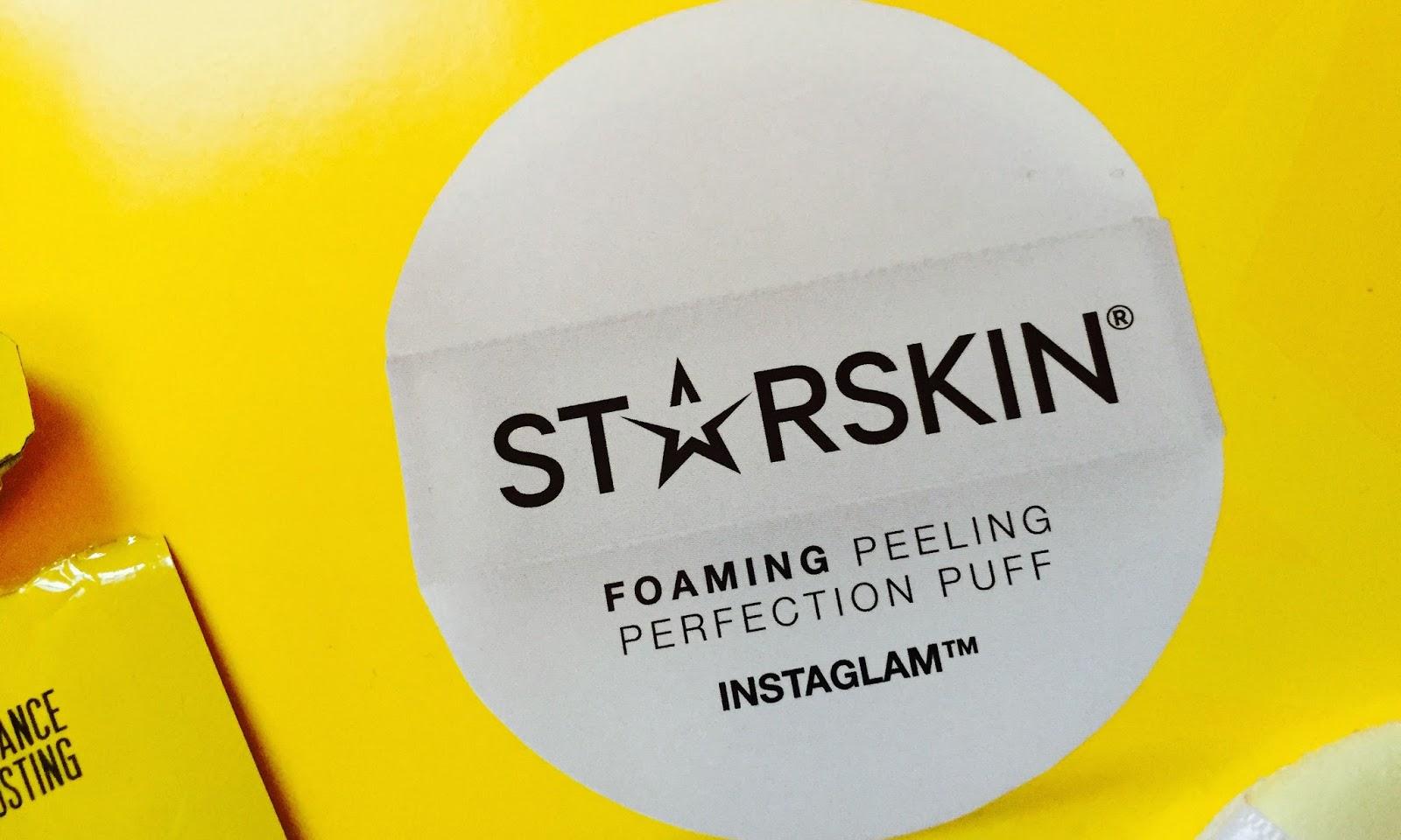 Starskin Foaming Peel Perfection Puff