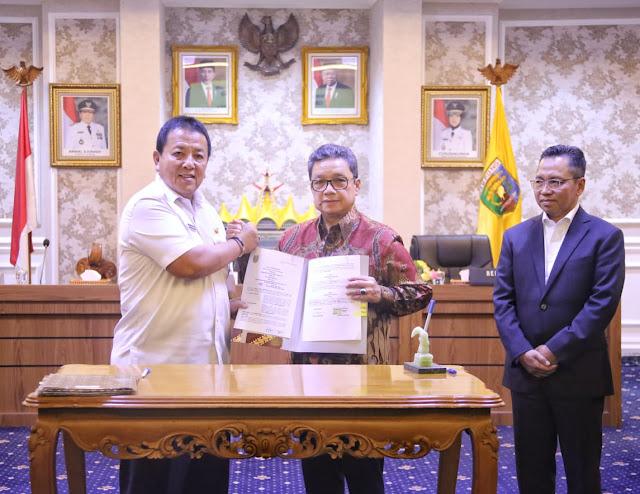 Gubernur Arinal Lakukan MoU dengan Perusahaan Pupuk dan Perbankan, Tandai Kebangkitan Ekonomi Kerakyatan melalui Kartu Petani Berjaya
