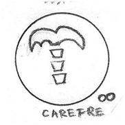 Carefree Icon Drawing