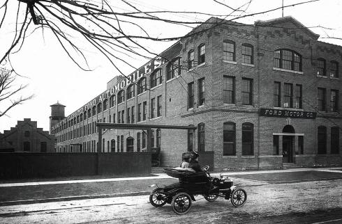 ford piquette avenue plant detroit archival