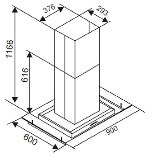 Máy Hút Mùi Canzy CZ-ISO90E