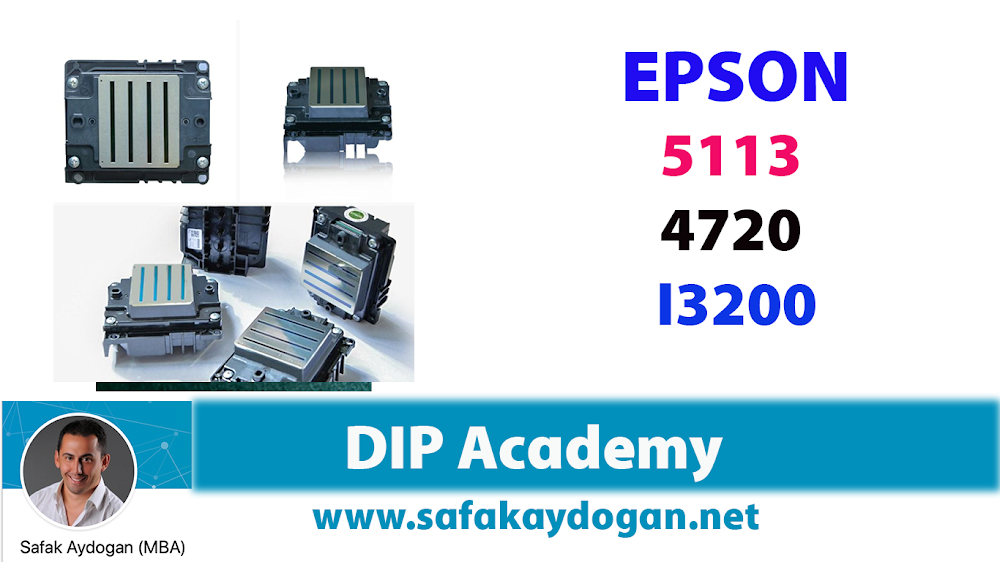 Yeni Epson I3200 baskı kafaları bizlere neler sunuyor ? -   Ticari açıdan.