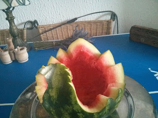 Kész a kreatív gyümölcsöstál alapja