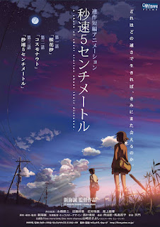 review film anime 5 Centimeters per Second karya Makoto Shinkai