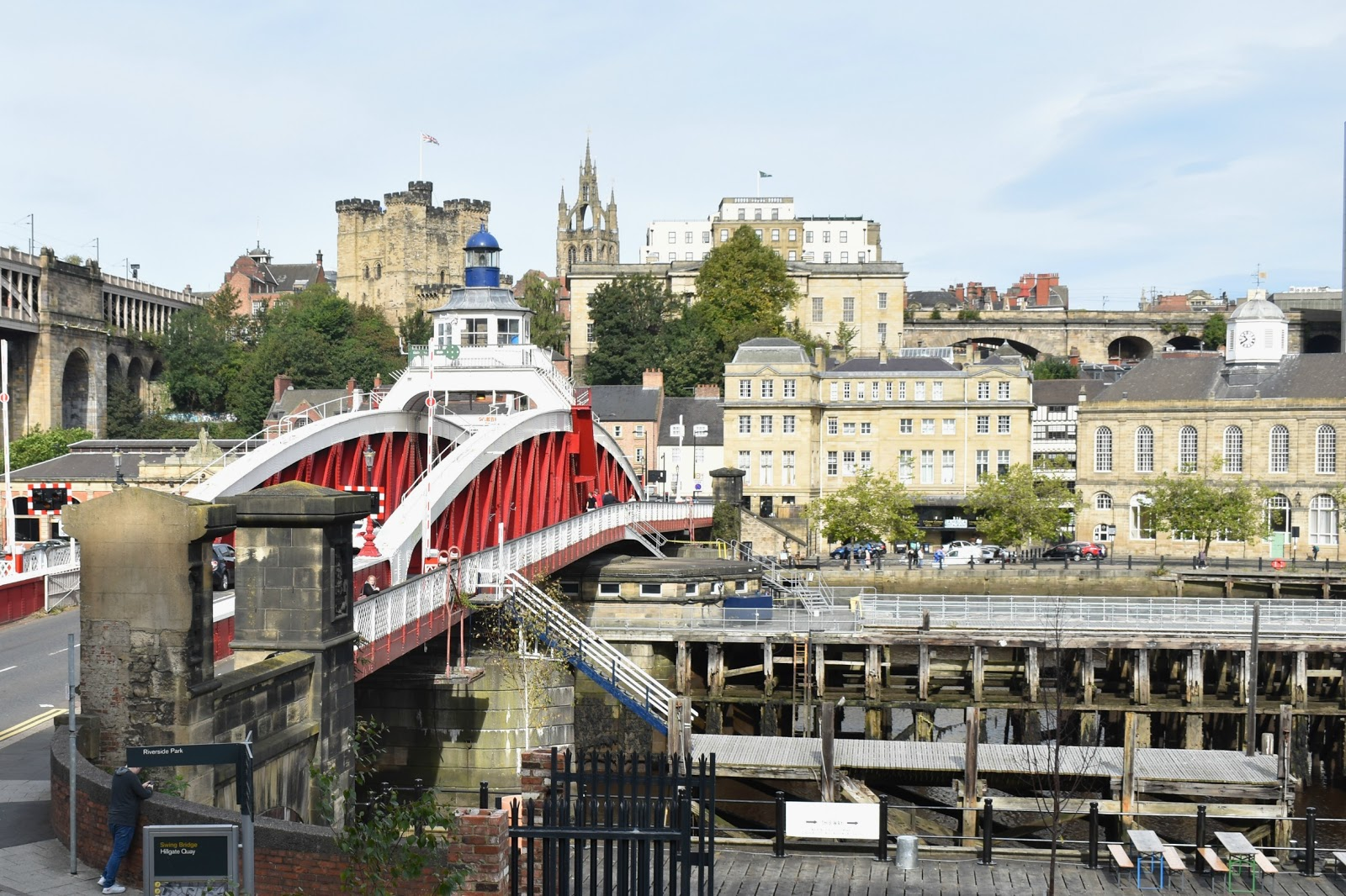 The Toon Tour - Exploring Newcastle and Gateshead - Swing Bridge