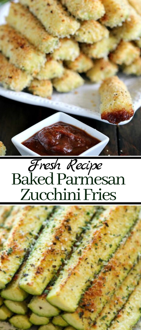 Baked Parmesan Zucchini Fries #vegan #vegetarian #soup #breakfast #lunch