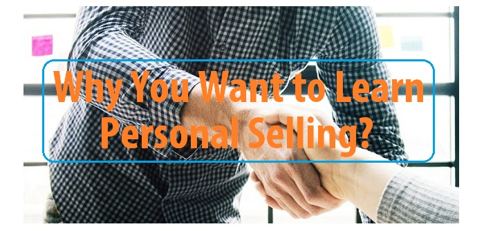 Learn personal selling