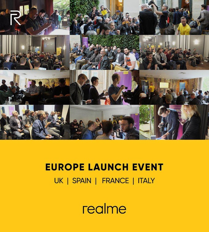 Realme Introduces its Game-Changer Smartphone to Europe