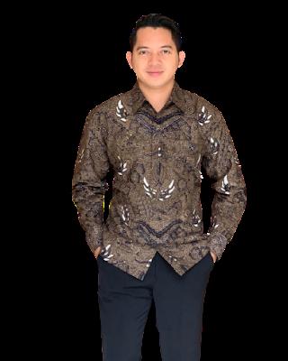 Kemeja Batik Pria Solo Lengan Panjang KBP 12
