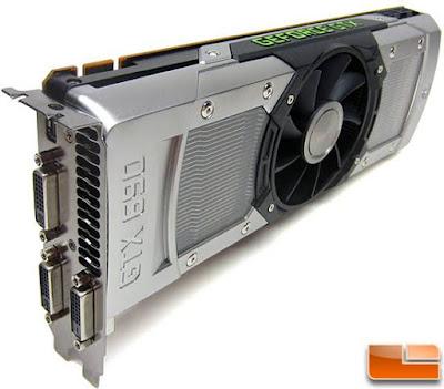 Nvidia GeForce GTX 690最新ドライバーのダウンロード
