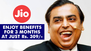 "Jio Launches ""Dhan Dhana Dhan"" Offer! Enjoy Unlimited Services For 3 Months"