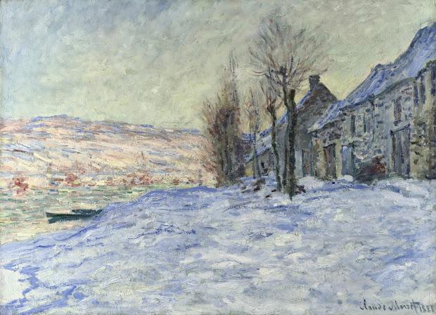 Monet Snow Paintings
