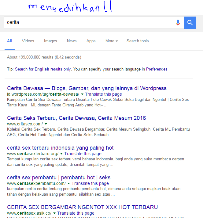 hasil pencarian keyword cerita