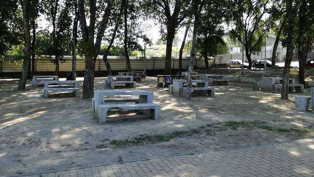 Parque de Merendas do Parque de Lazer da Ponte do Bico