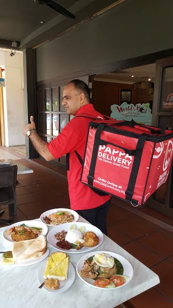 Perkhidmatan PappaDelivery Food Delivery Terbaik Sekitar Klang Valley
